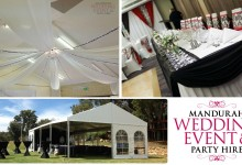 Mandurah Wedding Event & Party Hire